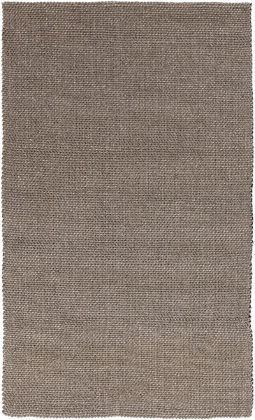 Solo Contemporary Taupe Beige Fabric Area Rugs 1589-VAR1