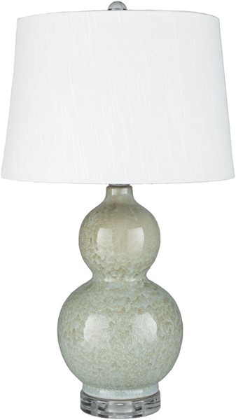 Surya Semmes Pale Blue Ceramic Table Lamp - 14x24.50 SME-001