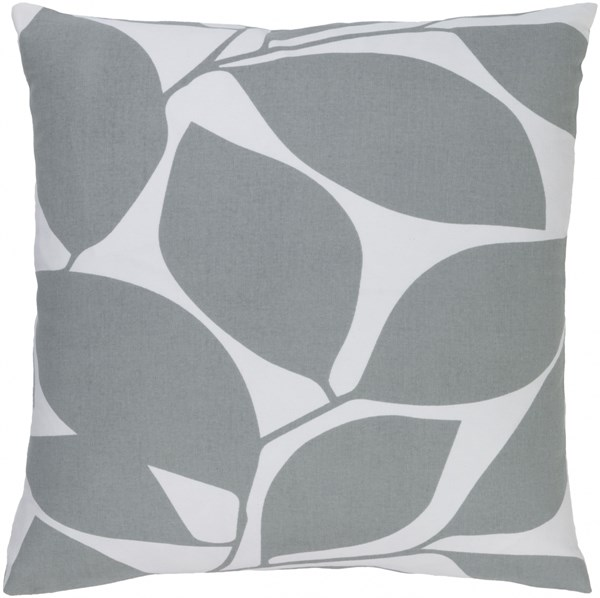 Somerset Light Gray Fabric Throw Pillow (L 20 X W 20 X H 5) SMS009-2020D