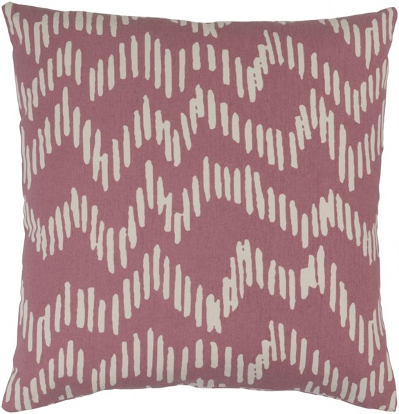Somerset Salmon Beige Fabric Throw Pillow (L 20 X W 20 X H 5) SMS013-2020P