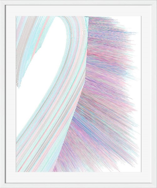 Surya Eternal Paper Tidal Wave Wall Art - 40x25 SN124A001-4025
