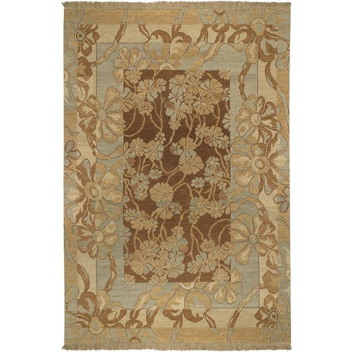 Sonoma Flat Pile L 108 X W 72 Rectangle Wool Rug SNM-8983 SNM8983-69