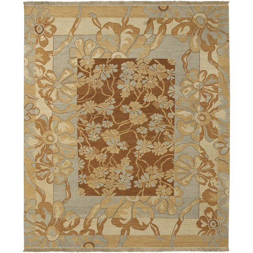 Sonoma Flat Pile L 120 X W 96 Rectangle Wool Rug SNM-8983 SNM8983-810