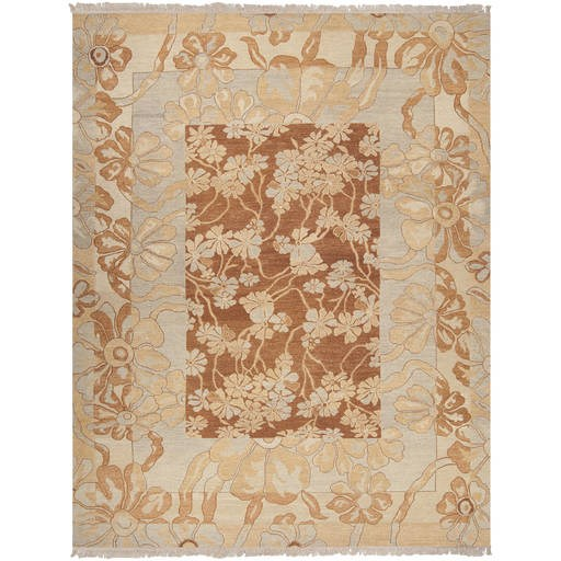 Sonoma Flat Pile L 144 X W 108 Rectangle Wool Rug SNM-8983 SNM8983-912