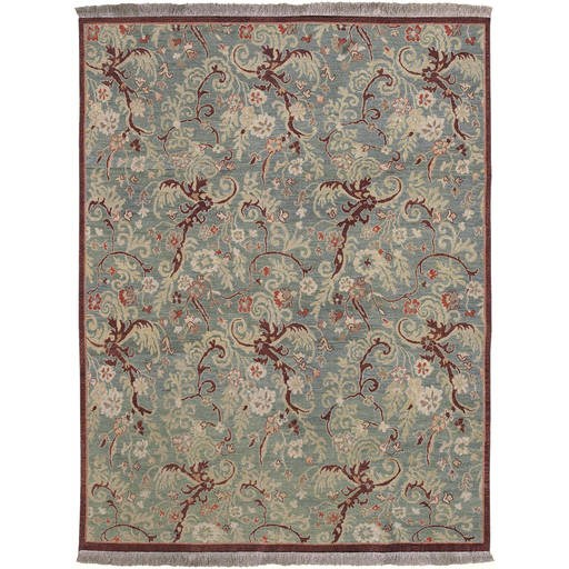 Sonoma Transitional Dark Khaki Tan Rectangle Wool Rug SNM89-12-13-VAR