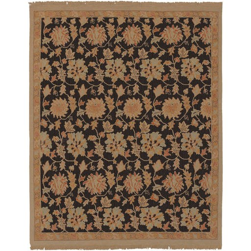 Sonoma Flat Pile L 168 X W 120 Rectangle Wool Rug SNM-8990 SNM8990-1014