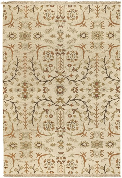 Surya Sonoma Tan Dark Brown Ivory Wool Area Rug - 36x24 SNM9002-23