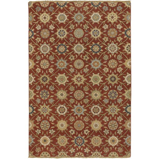 Sonoma Flat Pile L 120 X W 96 Rectangle Wool Rug SNM-9005 SNM9005-810