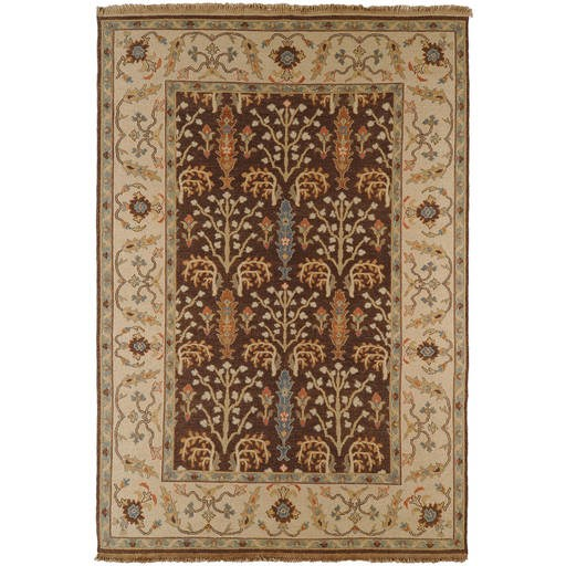 Sonoma Flat Pile L 36 X W 24 Rectangle Wool Rug SNM-9006 SNM9006-23