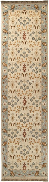 Sonoma Traditional Beige Slate Rust Fabric Runners 371-VAR1