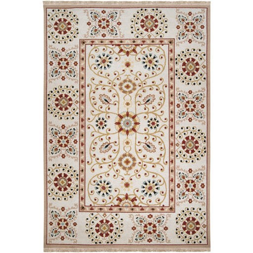 Sonoma Flat Pile L 108 X W 72 Rectangle Wool Rug SNM-9026 SNM9026-69