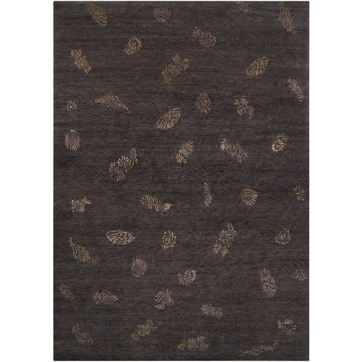 Sonora Plush Pile L 132 X W 96 Rectangle Wool Rug SON-1043 SON1043-811