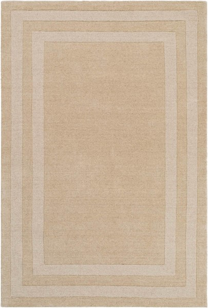 Surya Sorrento Wheat Wool Nylon Area Rug - 180x144 SOT2301-1215