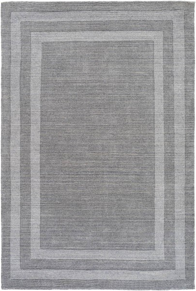 Surya Sorrento Gray Wool Nylon Area Rug - 36x24 SOT2304-23