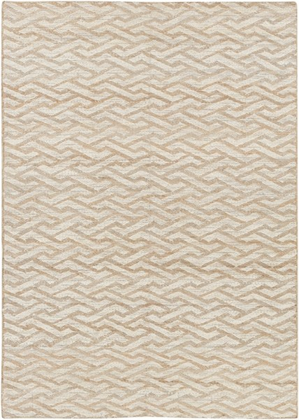 Sparrow Contemporary Beige Taupe Slate Fabric Area Rug (L 90 X W 60) SPW9000-576