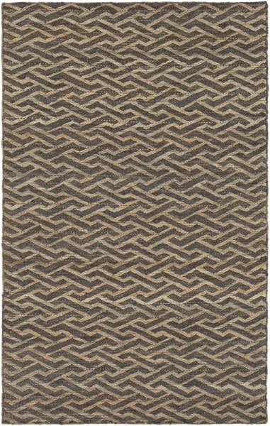 Sparrow Taupe Slate Chocolate Fabric Area Rug (L 90 X W 60) SPW9002-576