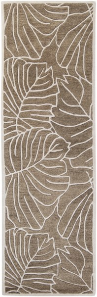 Studio Contemporary Olive Beige Fabric Runner (L 96 X W 30) SR138-268