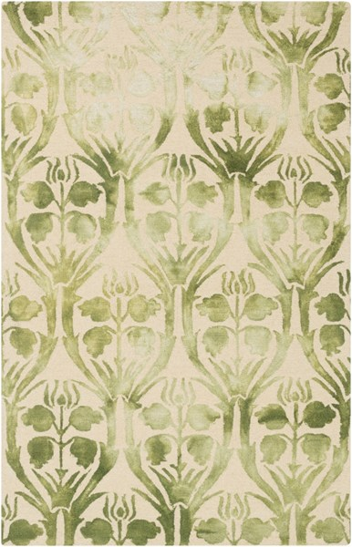 Serafina Sea Foam Forest Fabric Area Rug (L 90 X W 60) SRF2009-576
