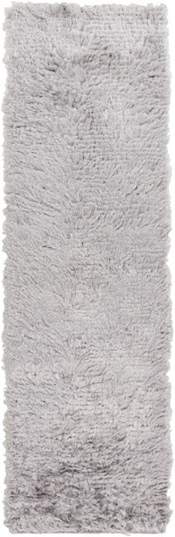 Stealth Contemporary Light Gray Polyester Runner (L 96 X W 30) STH702-268