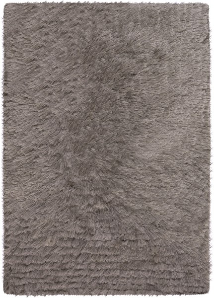 Stealth Contemporary Charcoal Polyester Area Rugs 823-VAR1