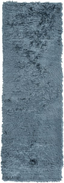 Stealth Contemporary Teal Polyester Runner (L 96 X W 30) STH715-268