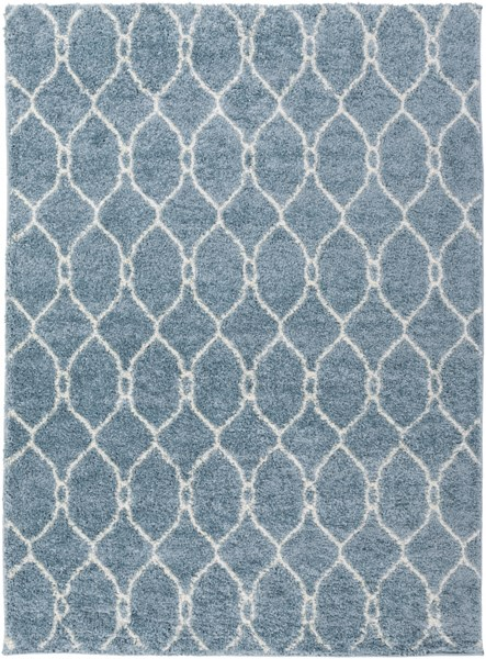 Swift Slate Light Gray Mint Butter Polypropylene Area Rug - 63 x 87 SWT4025-5373