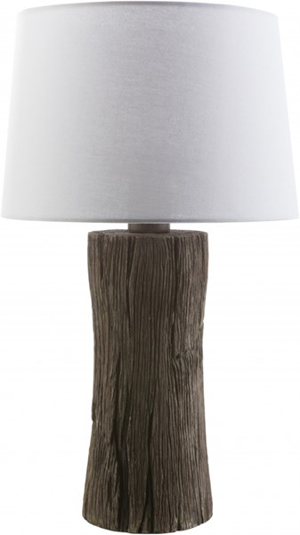 Sycamore Faux wood Resin Polyester Table Lamp - 15x26.5 SYC415-TBL