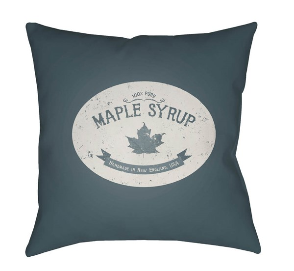 Surya Maple Syrup Jade White Pillow Cover - 20x20 SYRP004-2020