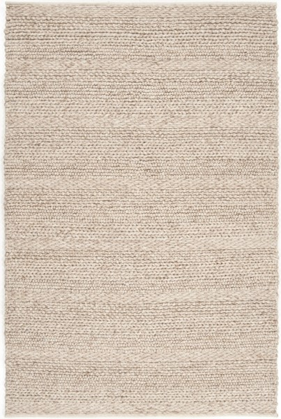 Tahoe Contemporary Ivory Fabric Hand Woven Area Rug 407-VAR1