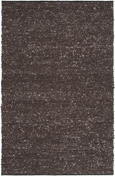 Tahoe Contemporary Black Fabric Hand Woven Area Rug TAH3701-58