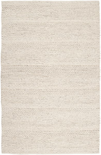 Surya Tahoe White Charcoal Wool Area Rug - 120x96 TAH3703-810