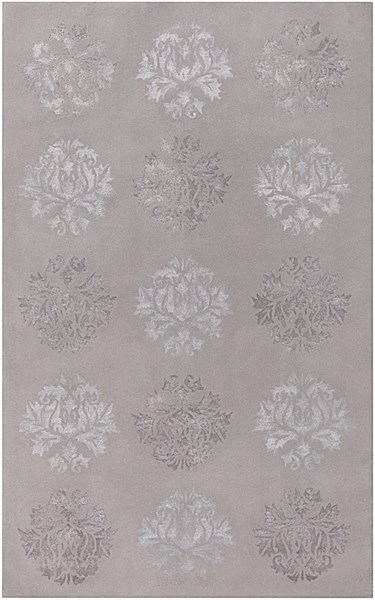 Tamira Gray Polyester Wool Area Rug - 60 x 96 TAM1006-58
