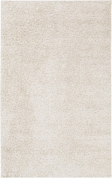 Taz Contemporary Ivory Polyester Hand Woven Area Rug TAZ1026-58