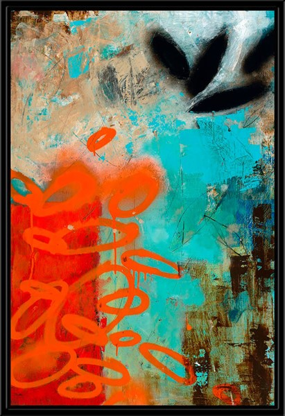 Surya Eternal Canvas Urban Scape II Wall Art - 19x28 TC111A001-1928