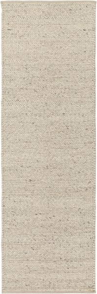 Toccoa Contemporary Ivory Fabric Hand Woven Runner TCA202-268