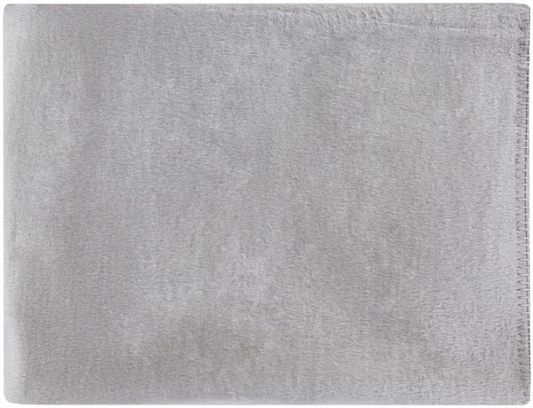 Thalia Traditional Gray Mulberry Silk Throws THL4000-5067