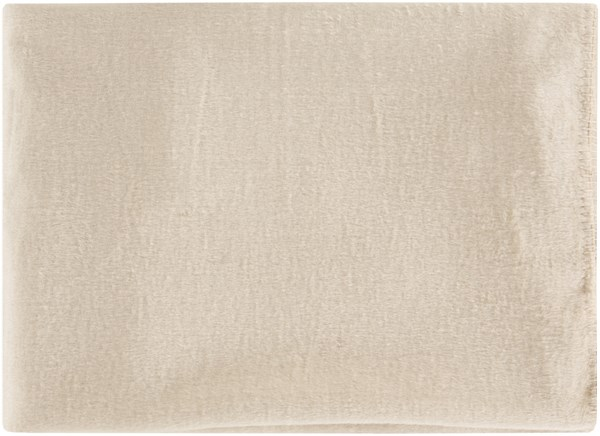 Thalia Traditional Beige Mulberry Silk Throws THL4002-5067