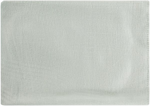 Thalia Traditional Light Gray Mulberry Silk Throws THL4004-5067