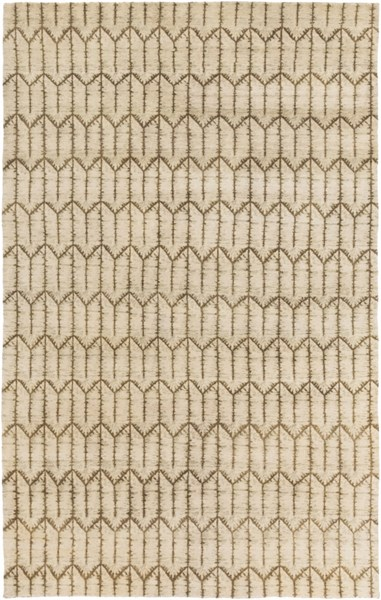 Thompson Contemporary Beige Olive Gray Fabric Area Rug THOMPSON-DCR-BNDL
