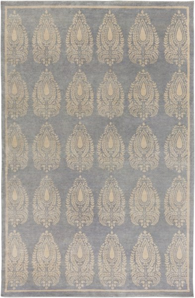 Thompson Contemporary Gray Wool Area Rug THP1002-69