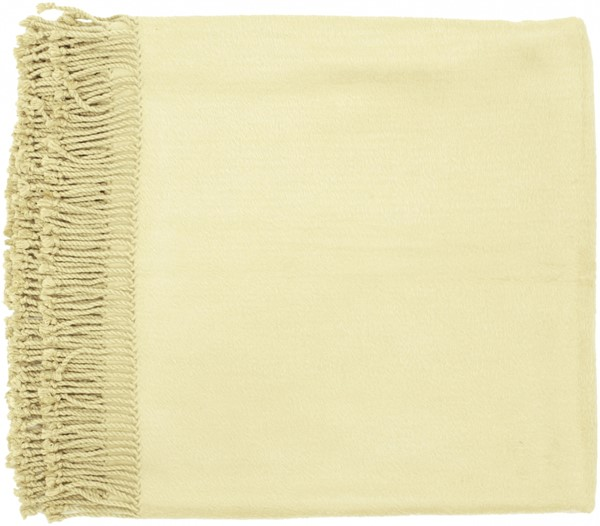 Tian Traditional Beige Fabric Rectangle Throws 13737-VAR1