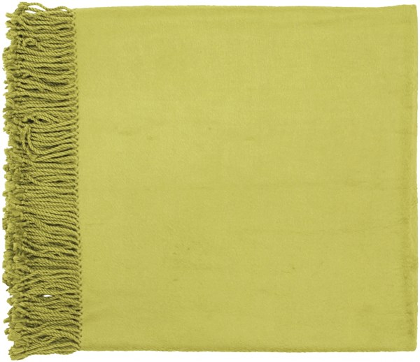 Tian Tian Traditional Olive Bamboo Cotton Throws TIA1007-5067