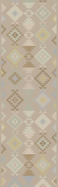 Tallo Light Gray Taupe Beige Wool Cotton Area Rug - 30 x 96 TLL3000-268
