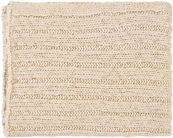 Timothy Traditional Beige Acrylic Throws TMT8301-5060