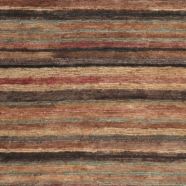 Surya Trinidad Rust Dark Brown Camel Jute Sample Area Rug - 18x18 TND1120-1616