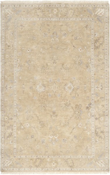 Transcendent Beige Olive Taupe New Zealand Wool Area Rug - 66 x 102 TNS9002-5686