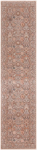 Surya Topkapi Aqua Navy Burnt Orange Polyester Polypropylene Runner - 123x31 TPK2308-27103