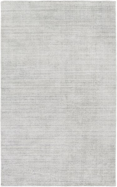 Surya Templeton Gray Black White Viscose Area Rug - 156x108 TPL4000-913