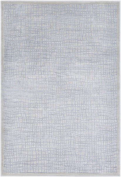 Surya Tranquil Light Gray Taupe Cream Polypropylene Polyester Area Rug - 36x24 TQL1004-23