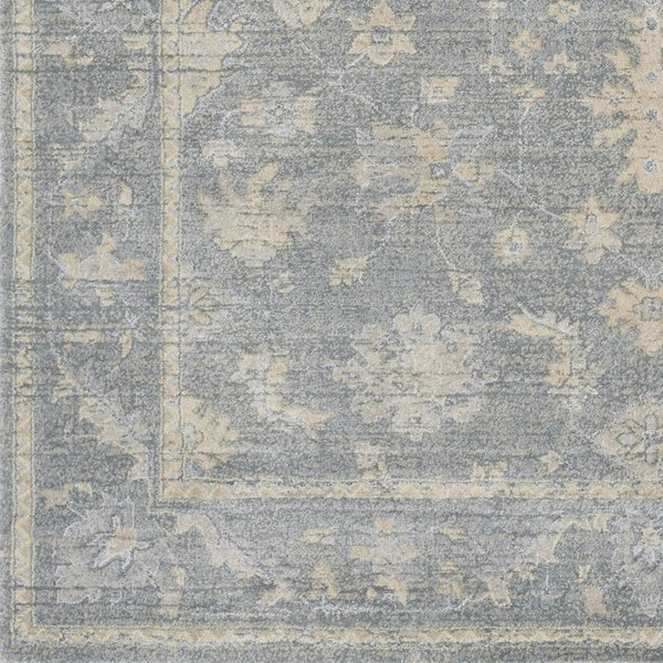 Surya Tranquil Gray Taupe Cream Polypropylene Polyester Sample Area Rugs TQL1007-RUG-VAR